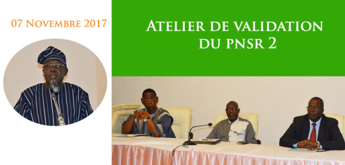 Atelier de validation du Programme National du Secteur Rural phase 2 (PNSR)